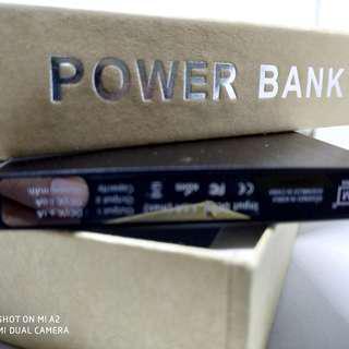Power Bank 5000mAh brush metal finish
