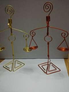 "Card / Jewellery Stand 8"" tall"