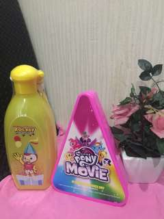1 set lunch box n botol minum