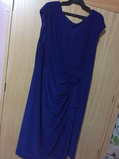 Royal Blue Gown (for plus size)