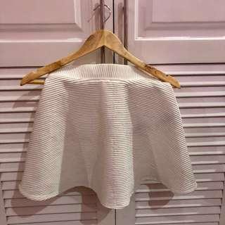 Forever 21 White Skirt #sweldosale9