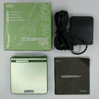 GBASP 主機 日本限定 Pearl Green Limited Edition 珍珠綠