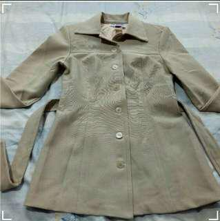 Belle Fashion Blazer, Coat,  Jacket (Beige )