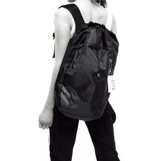 0805休閒運動便攜抽繩雙肩男女後背包