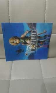 包平郵📮 Final Fantasy IX 3D card