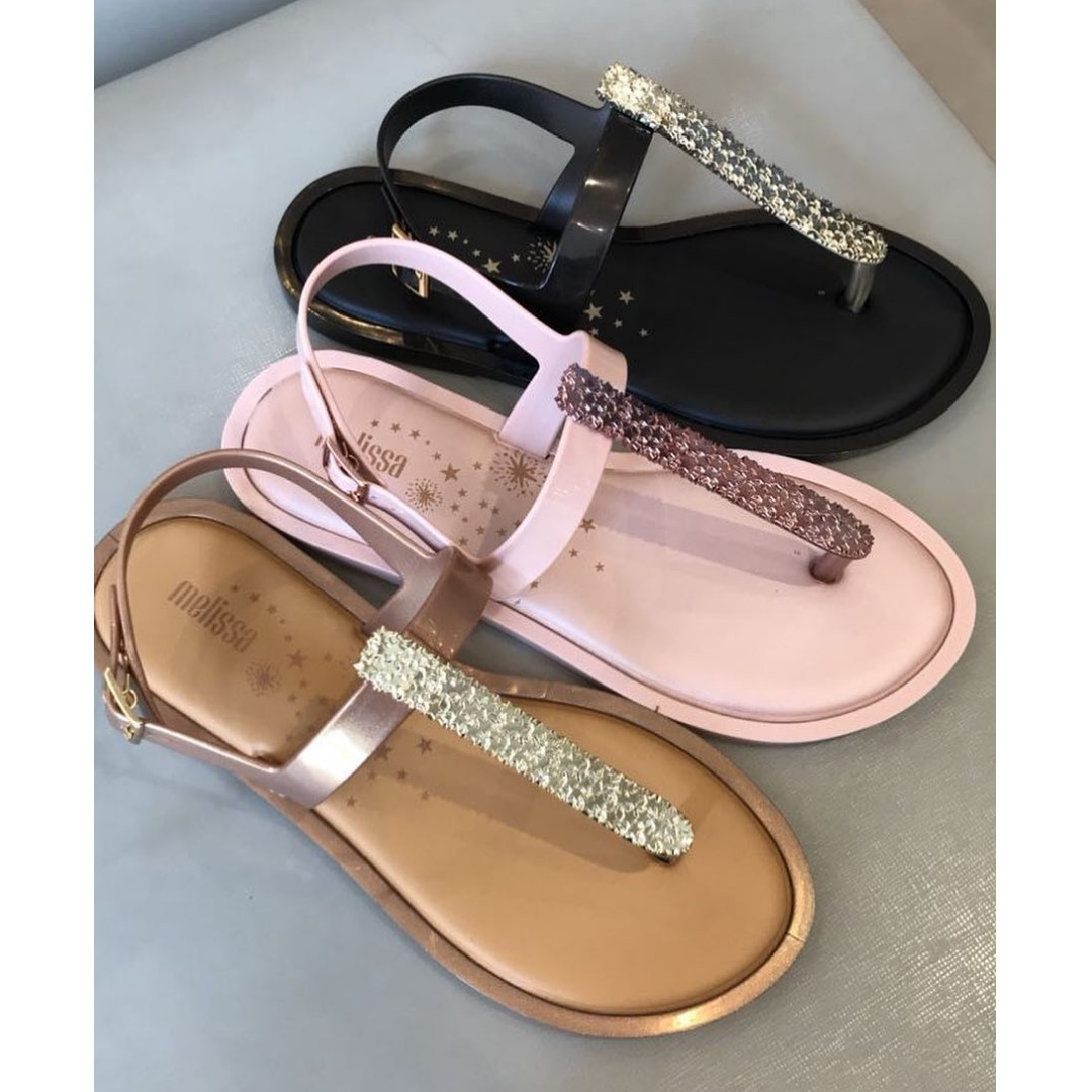 e03b82cb3f1e 💟 PO  NEW  Melissa Slim Sandal II (FREE NORMAL MAIL!)
