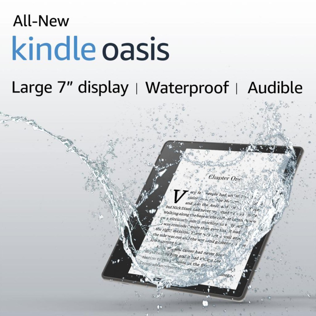 All New Kindle Oasis 2017 - 8GB - No Ads