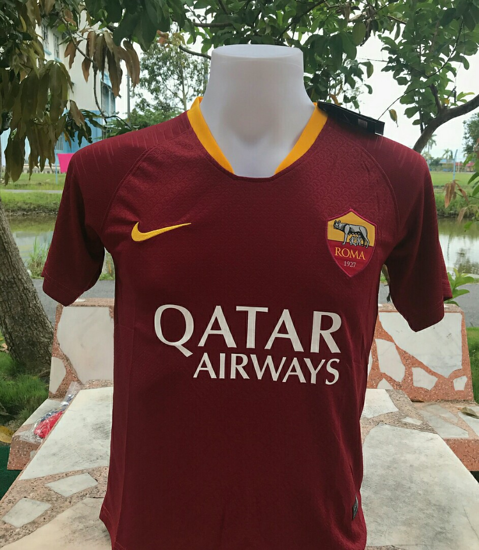 the latest 44797 6acfd AS Roma Home Jersey 18/19