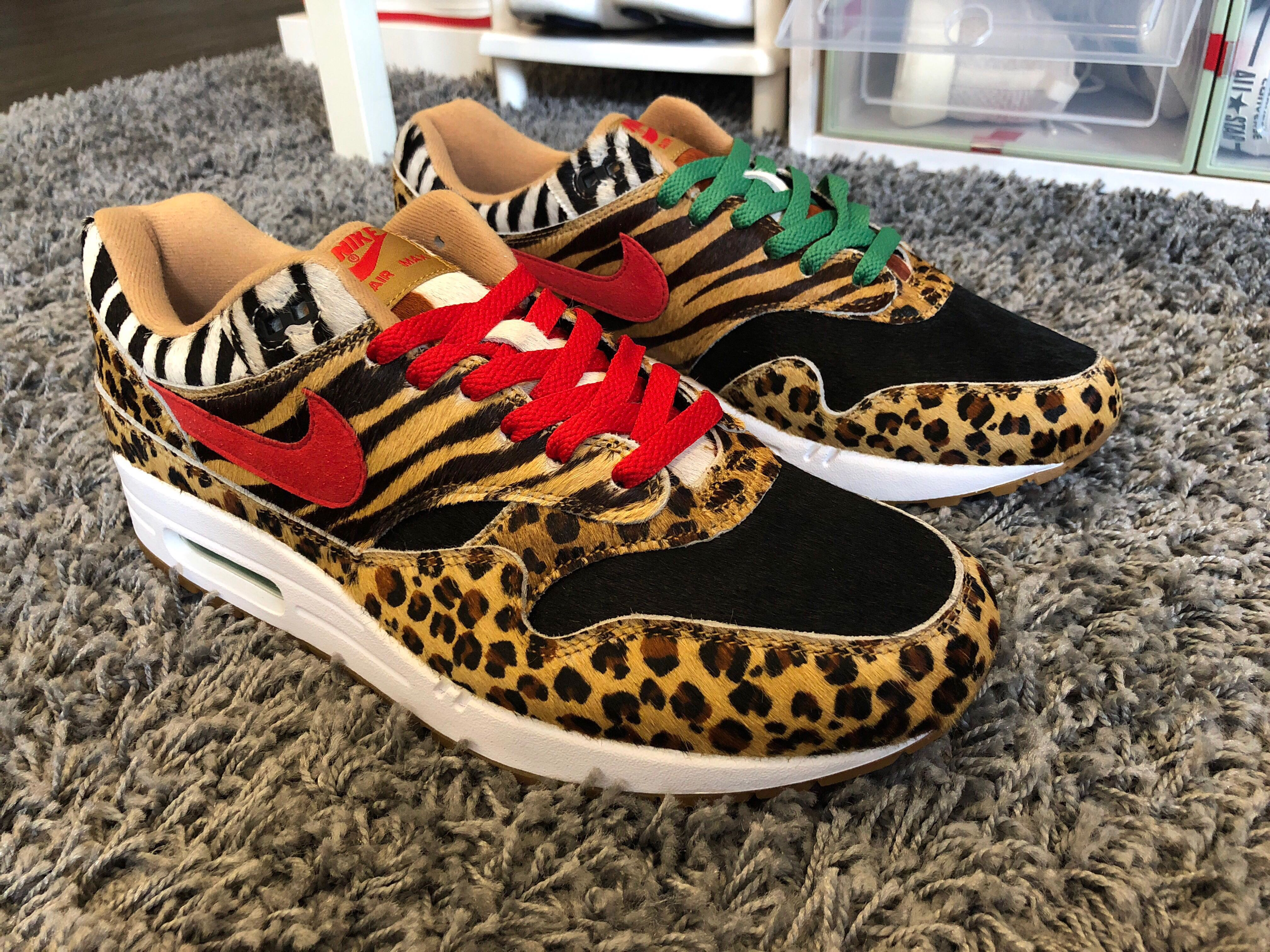 best authentic dbcdb 9dfbf Atmos Animal pack 2.0 air max 1 US11, Men s Fashion, Footwear ...