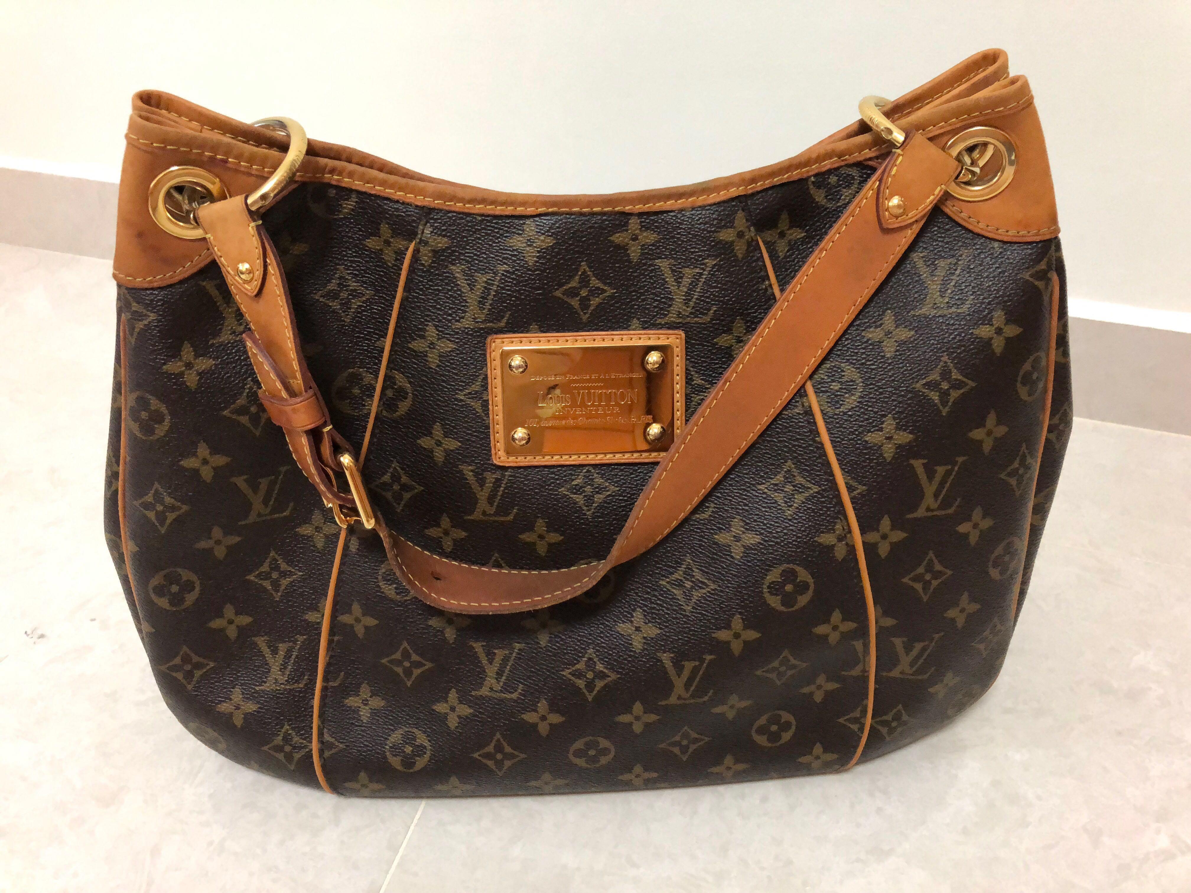 9a8360f3482d Authentic Louis Vuitton Monogram Galliera PM M56382 Shoulder Bag ...