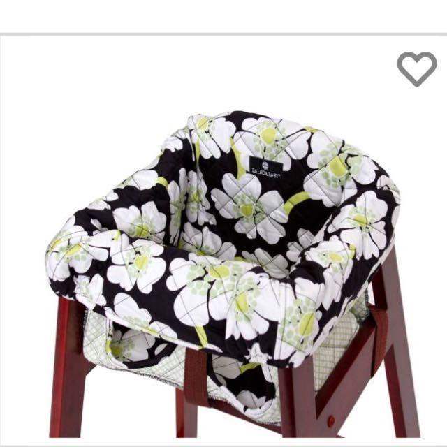Prime Balboa Baby High Chair Cover In Lime Poppy Spiritservingveterans Wood Chair Design Ideas Spiritservingveteransorg