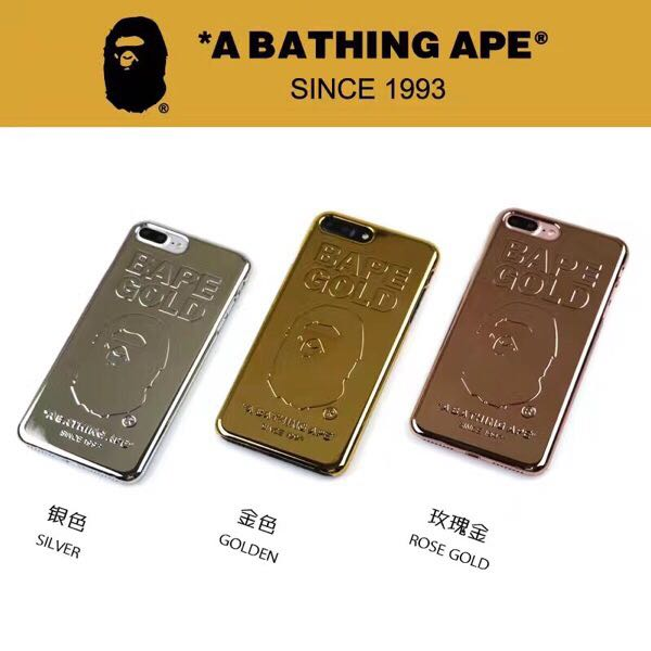 best cheap 71a91 7cac3 BAPE GOLD BAR IPHONE COVER