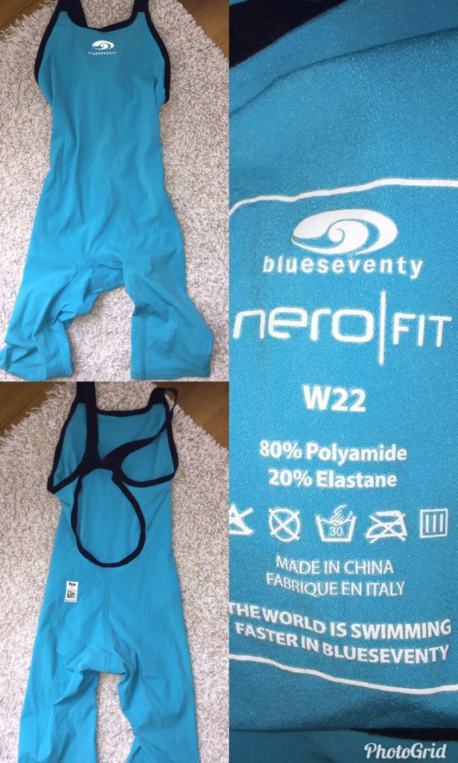 ccd518eb737 BlueSeventy neroFIT kneeskin Competition Swimsuit, Sports, Athletic ...