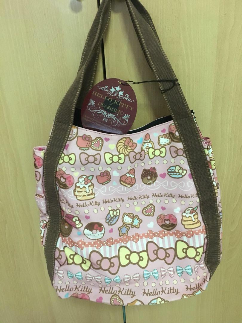 c3ad3ca6f82 BNWT Sanrio Hello Kitty tote bag, Women s Fashion, Bags   Wallets ...