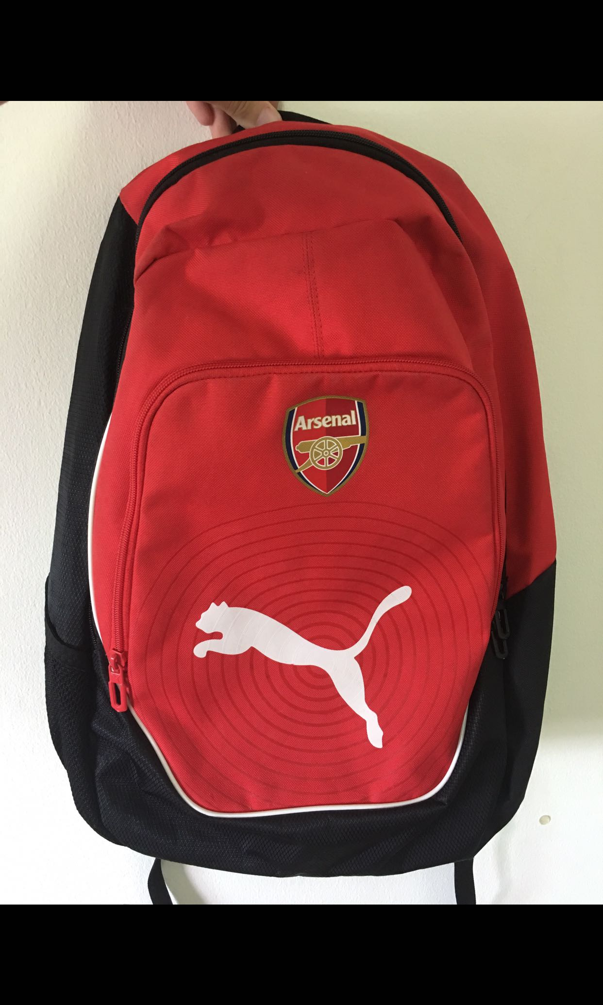 fdc209c15821 BRAND NEW Puma Arsenal Backpack (Red)