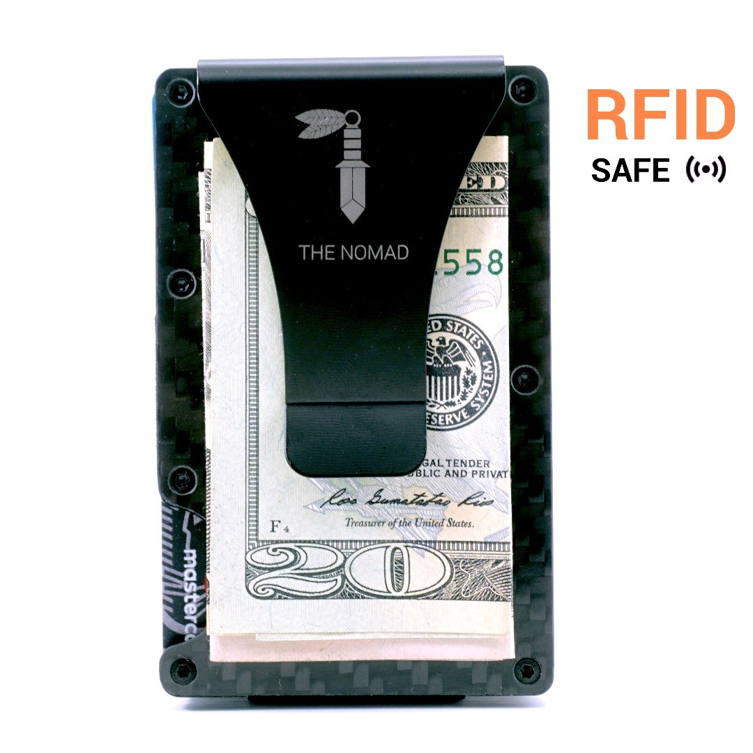 3d6518197328 [Discount!]Carbon Fiber Wallet With Money Clip. Brand New. Can Use As Gift  For Men | Carbon Fiber Card Holder | RFID blocking wallet | Minimalist ...