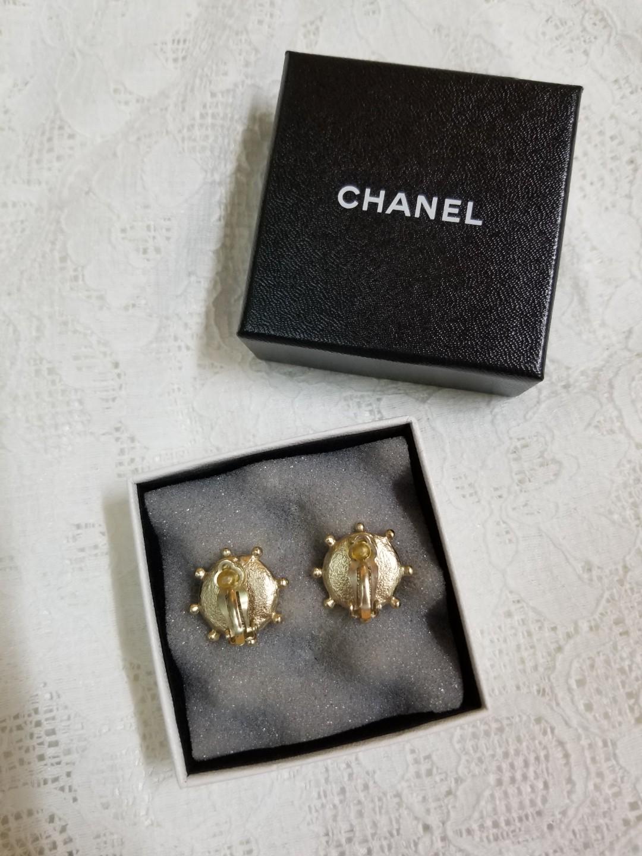 Chanel Ear Clips Earrings 耳夾 耳環 not Hermes dior celine Fendi