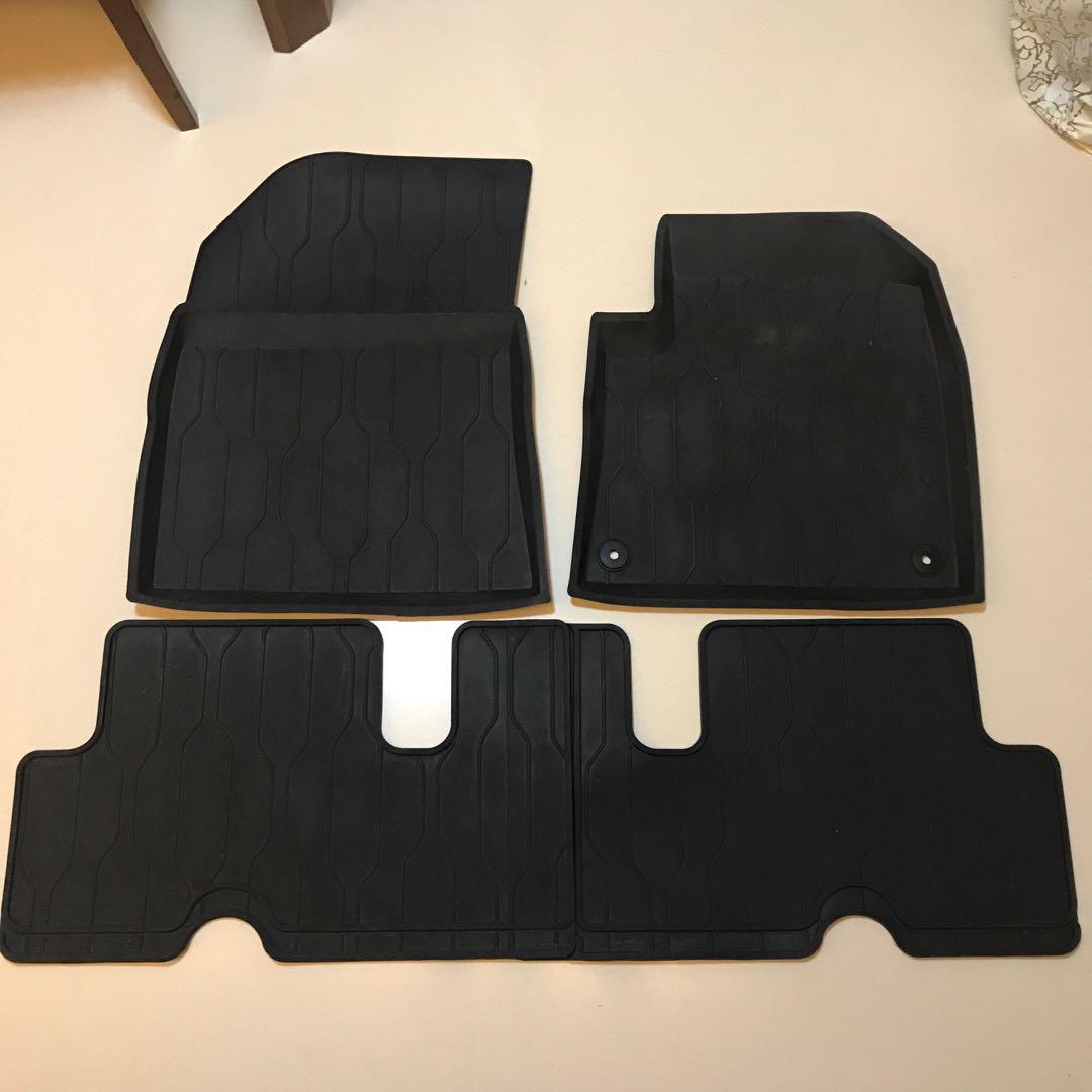 Citroen C4 Grand Picasso rubber mat, Car Accessories