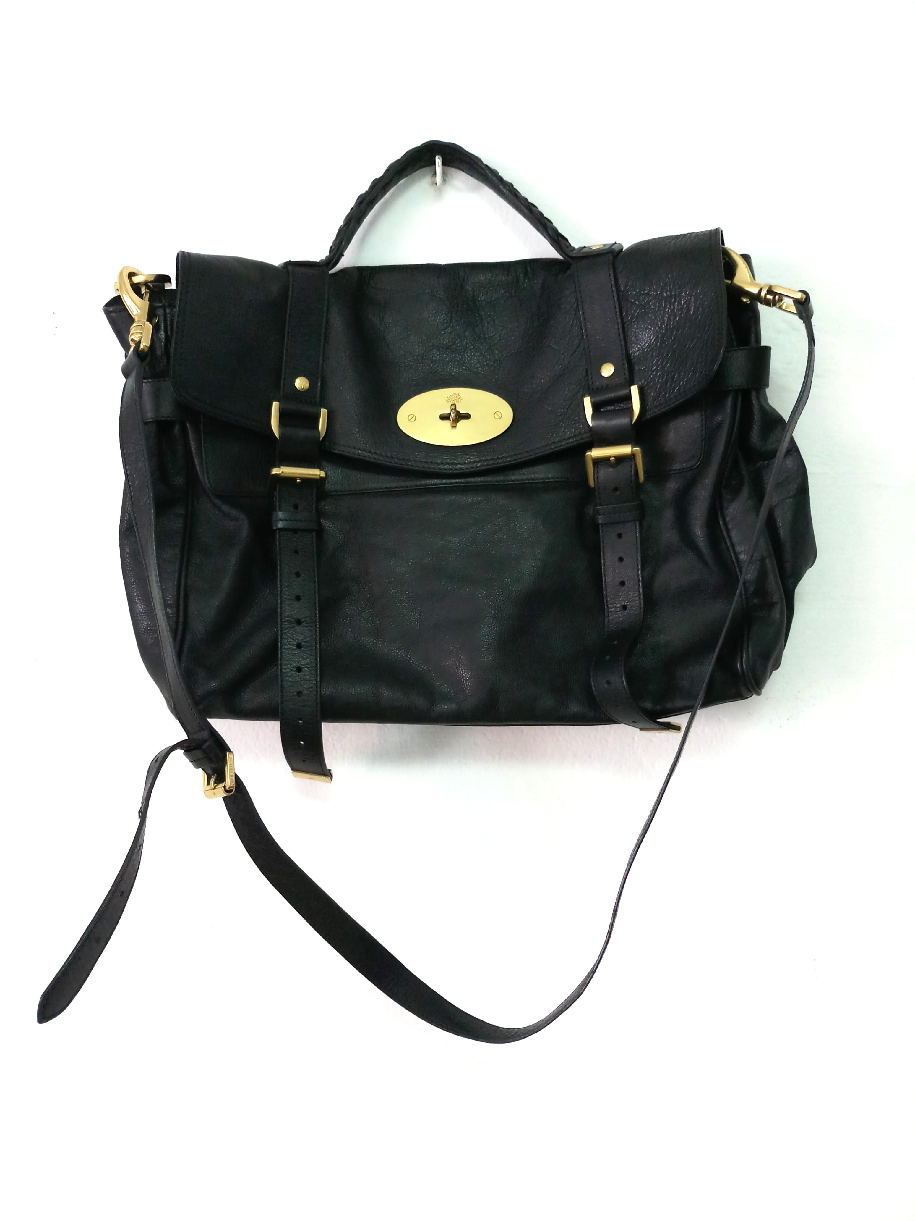 5b8239c28cd85 Classic Mulberry Oversized Alexa bag!