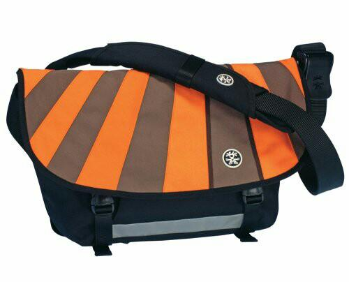 Crumpler Barney Rustle Blanket Messenger Bag in Orange