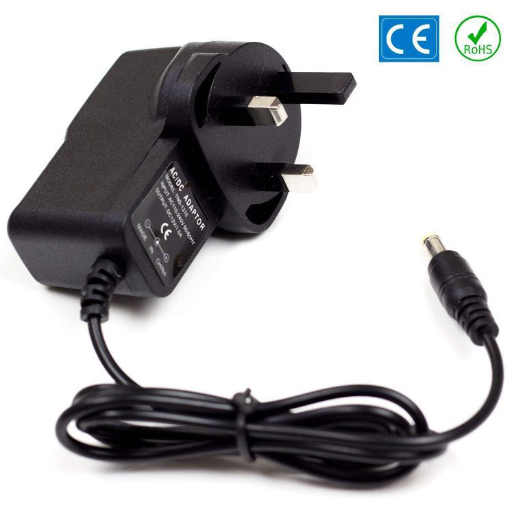 Donner 12v 1A AC DC Replacement Power Supply For Yamaha PSR-E233 Keyboard  Mains Adaptor Plug PSU UK Lead 1A