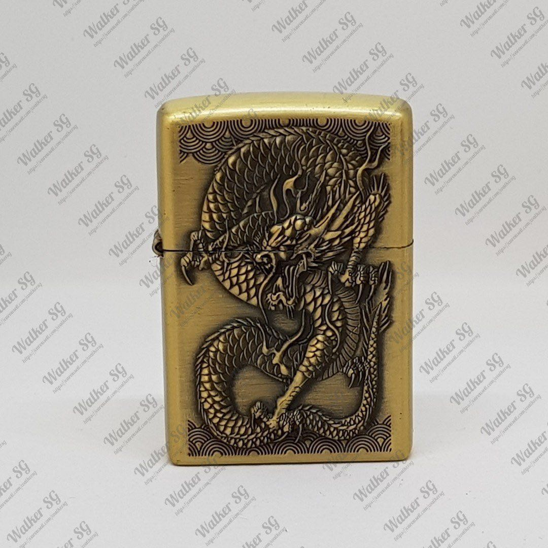 Dragon Zippo Style Wind Proof Lighter Mens Fashion Accessories Share This Listing