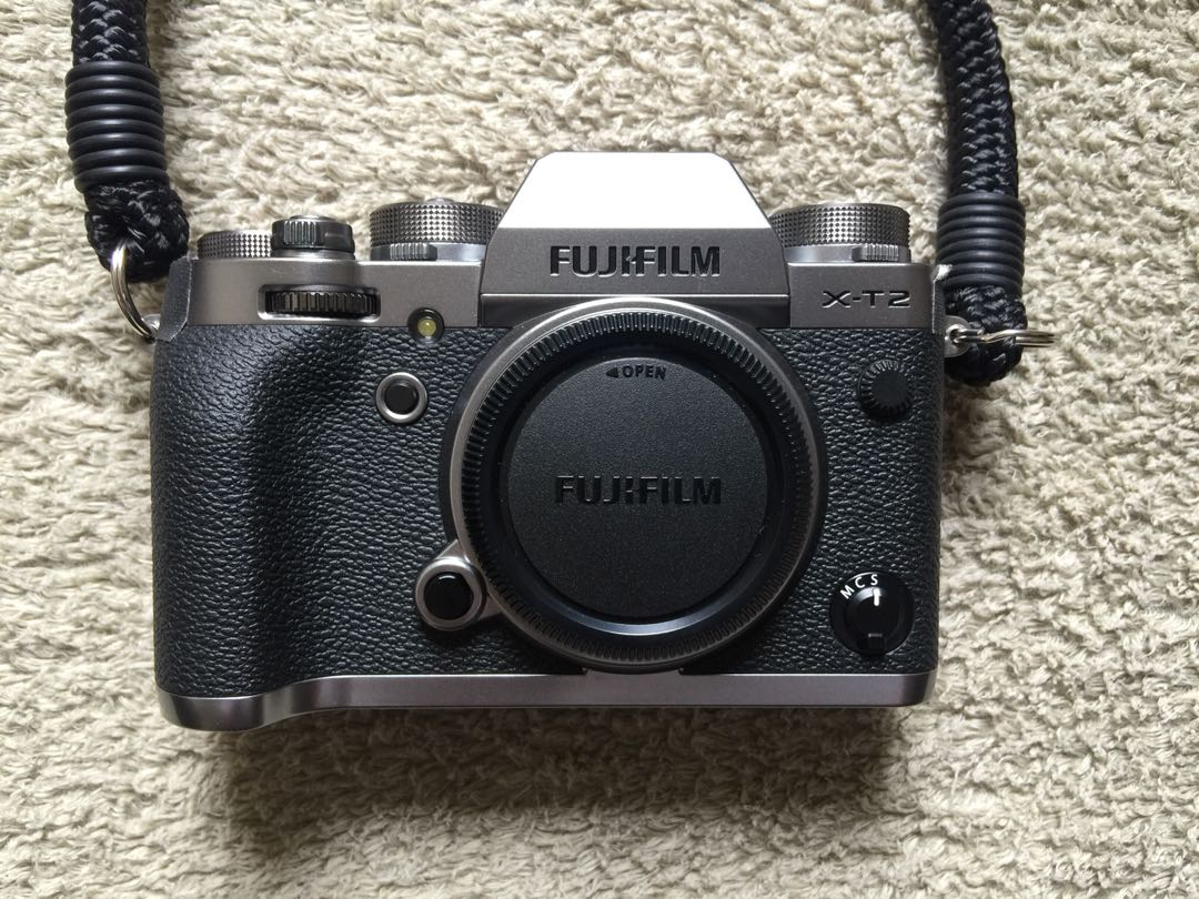 Fujifilm X T2 Graphite Silver Body Photography Cameras Mirrorless Xt2 Only Photo