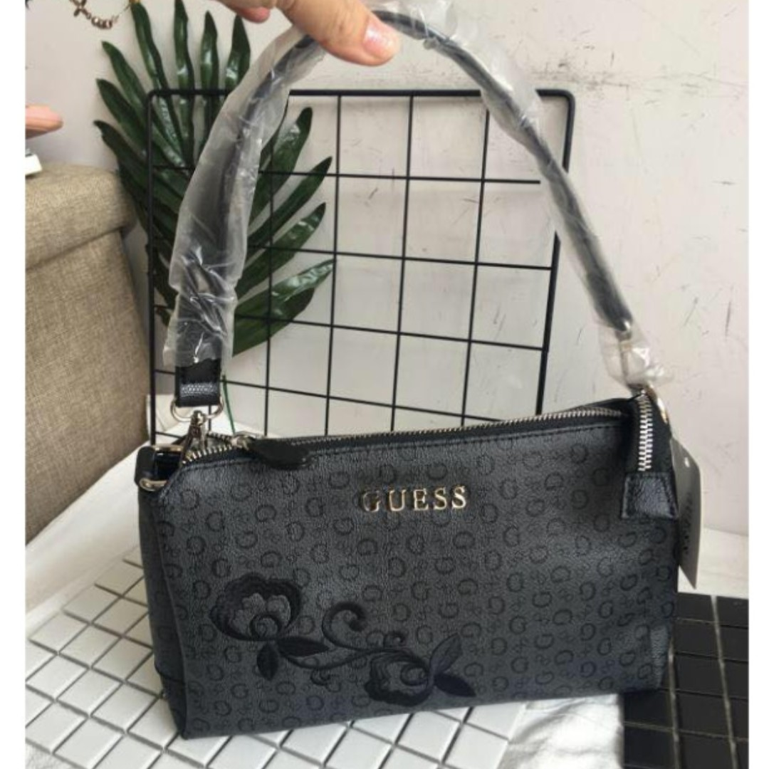 GUESS FLORAL SLING BAG 435f61507df13