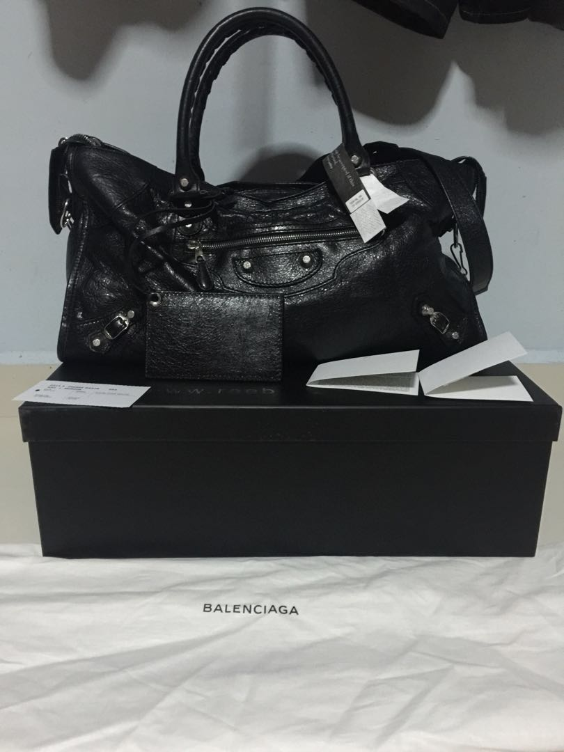 52295b77ba25 HOT SALE  Authentic Balenciaga Black Bag