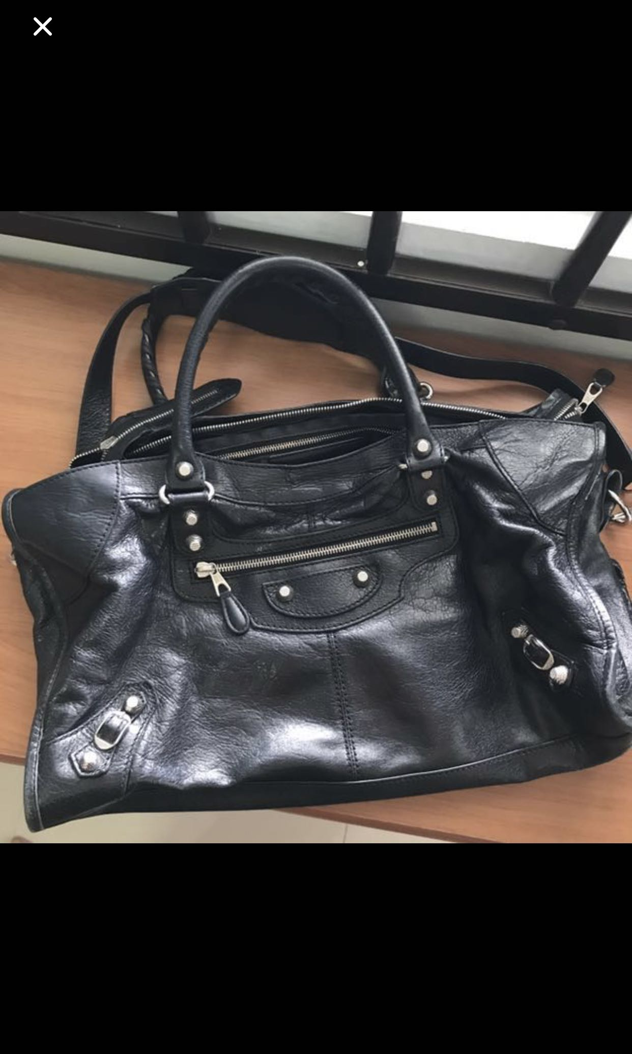 HOT SALE  Authentic Balenciaga Part Time Bag 91aab1f8c7c32