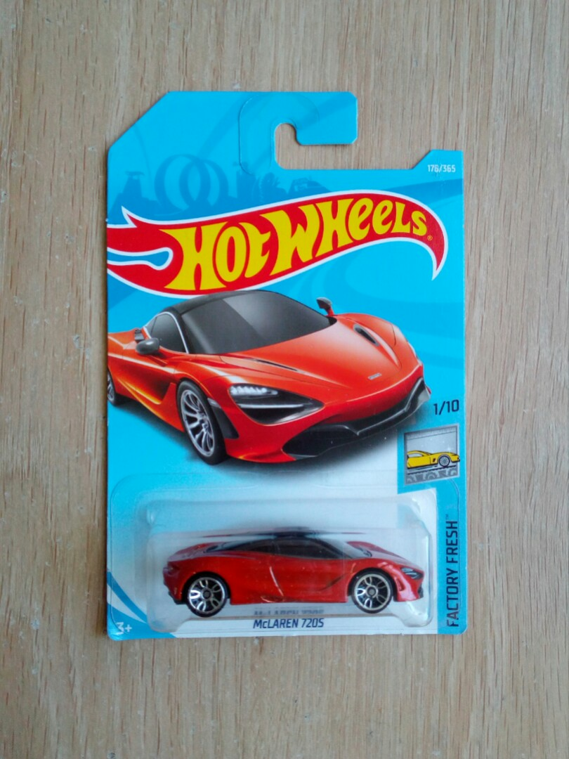 Hotwheels Mclaren 720s Toys Games Others On Carousell