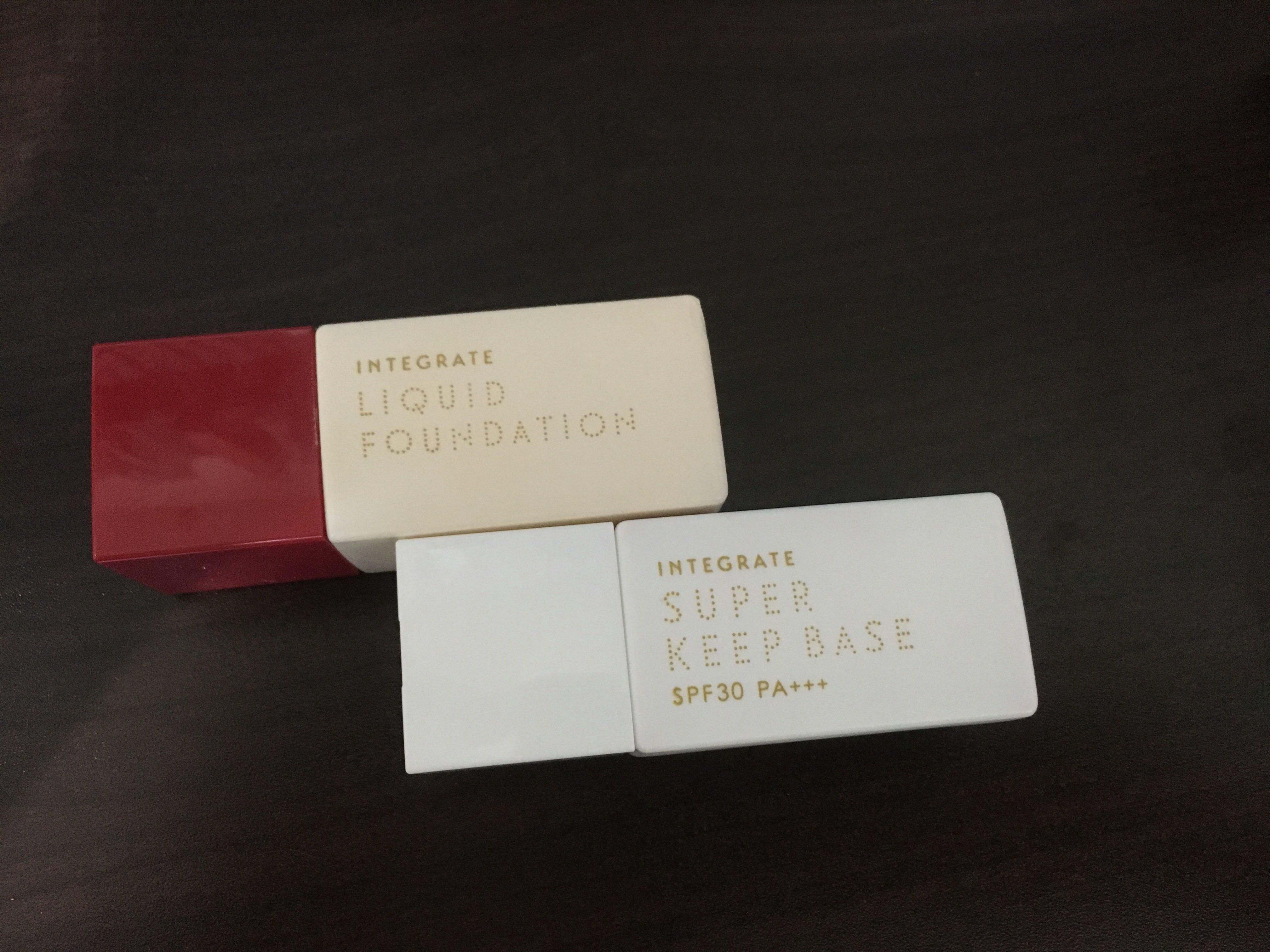 integrate 飾底乳/粉底液