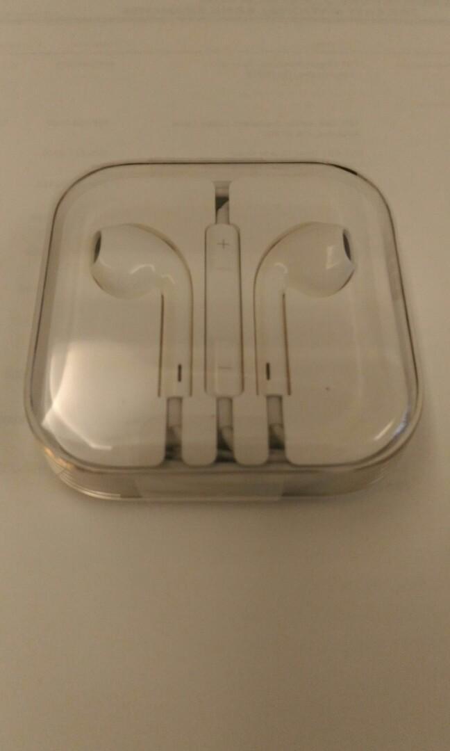原廠全新Iphone有線耳機