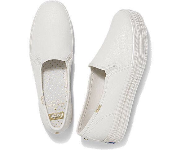 08a942ee948 KEDS x Kate Spade New York Triple Decker Pearl Foxing
