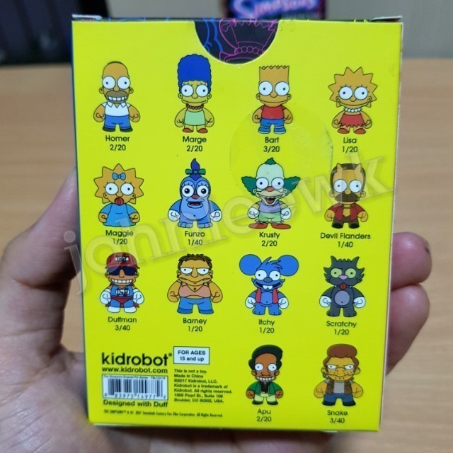 The Simpsons Enamel Pin Series KidRobot Bart Simpson 3//20 MINT Condition
