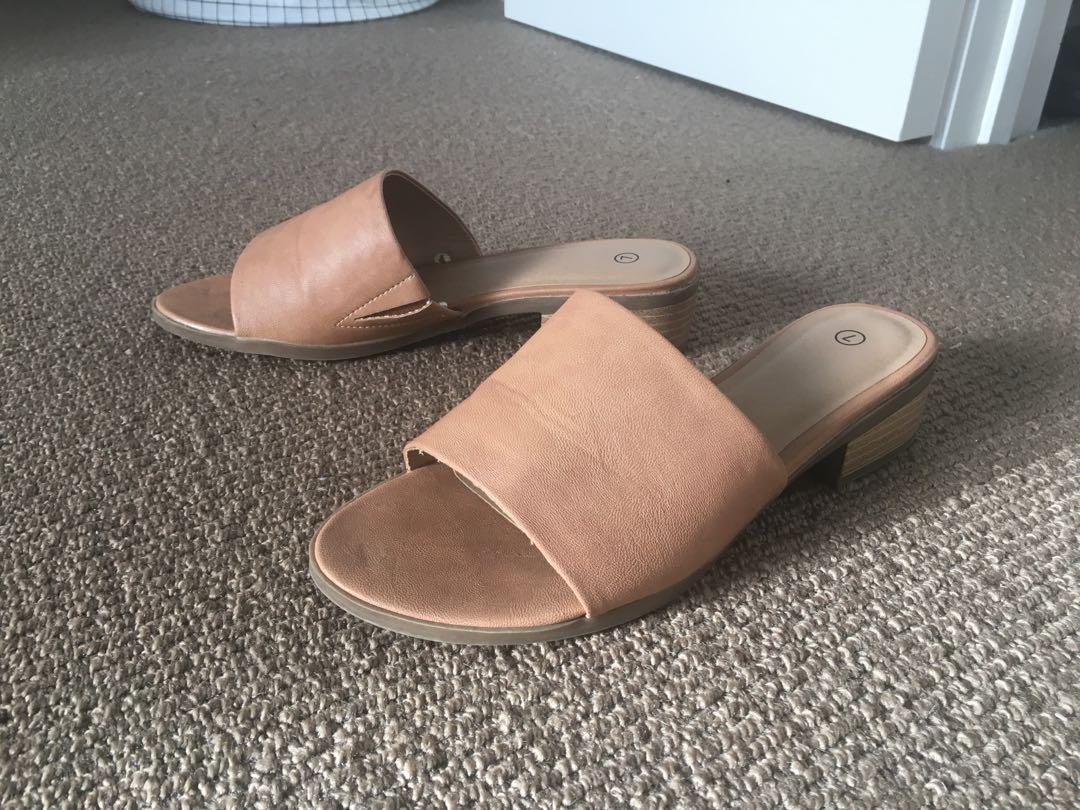 Kmart Slides, Women's Fashion, Shoes on