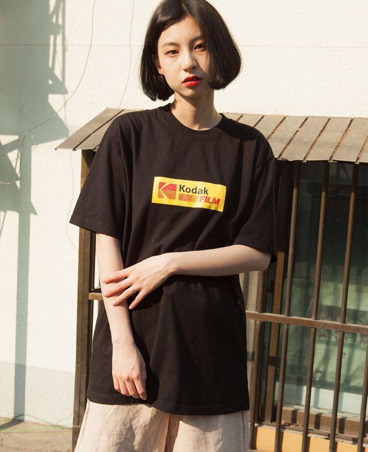 Korean Ulzzang Kodak Tee