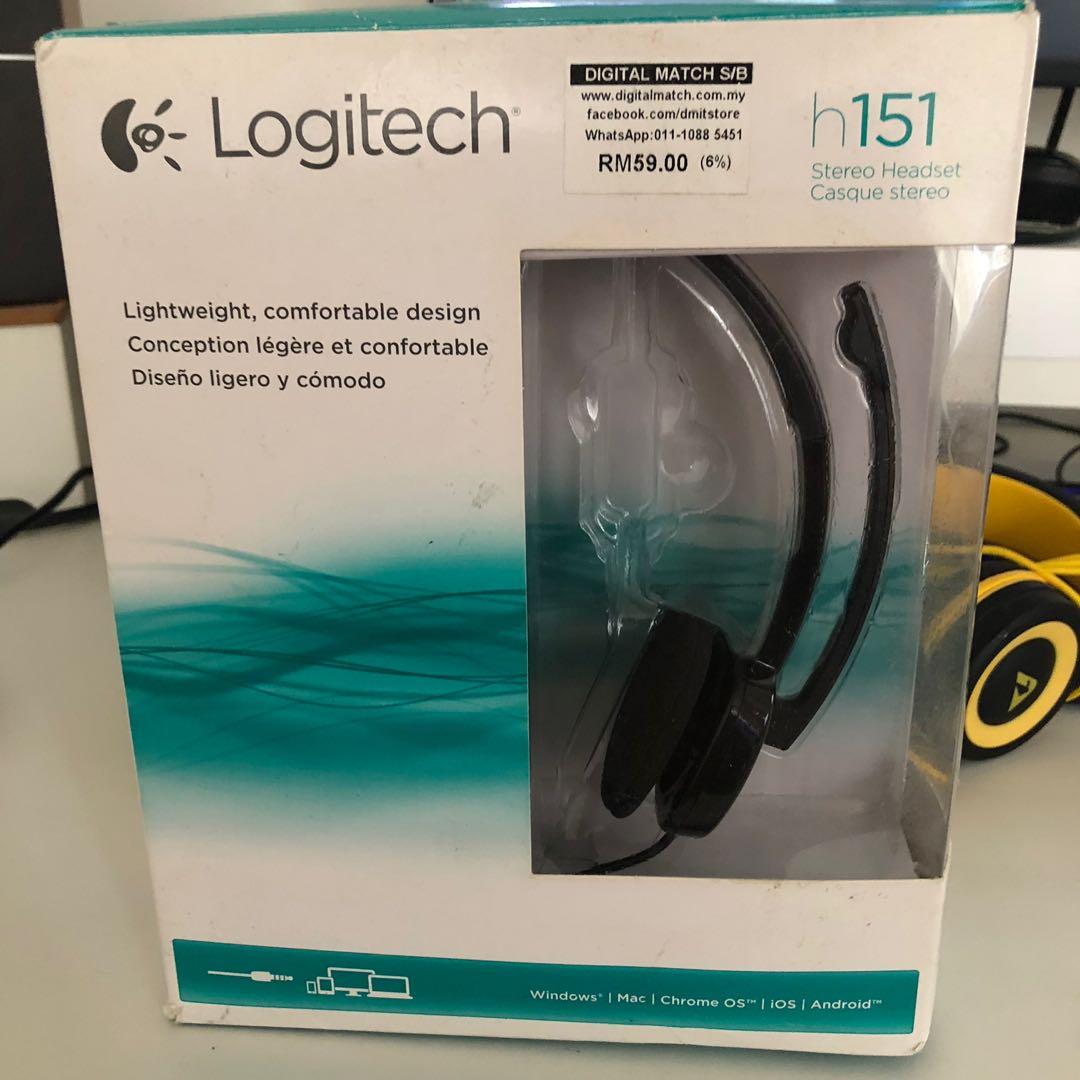 Logitech h151 Stereo Headset .