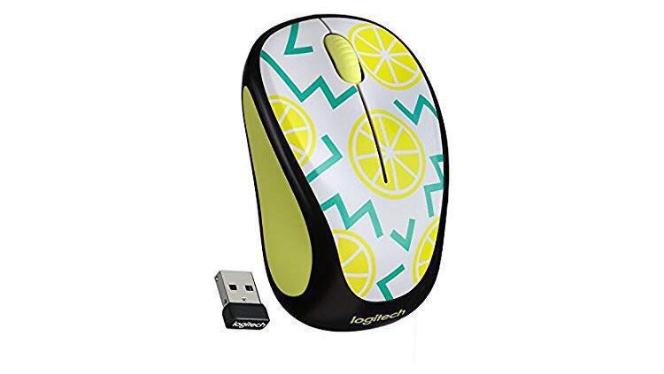 Logitech M325C Wireless Mouse - Lemon Yellow M325C