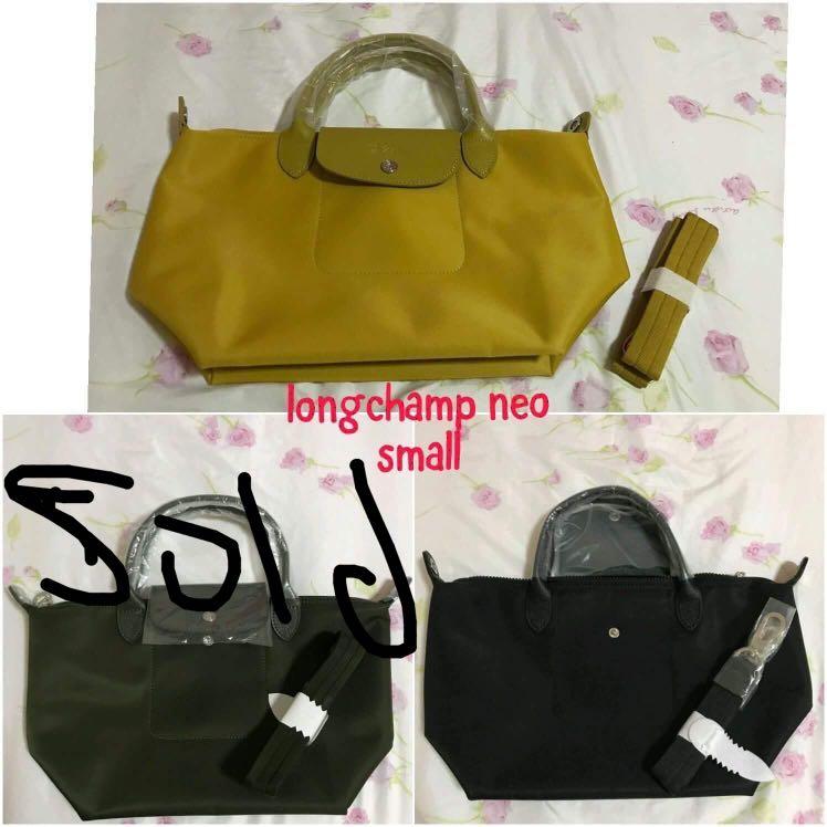 8389b5177d12 Longchamp Neo authentic