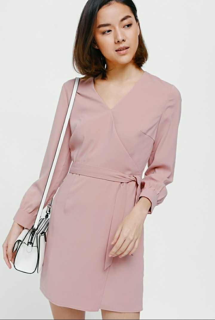 503bf663fc Love Bonito Oneryn cuffed sleeve dress