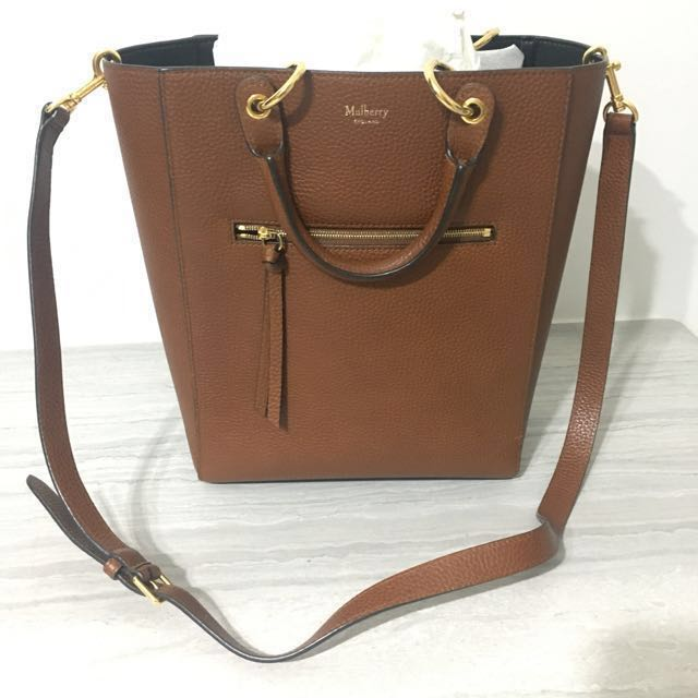 6d8a55ce5a Mulberry tote bag with removable Long strap