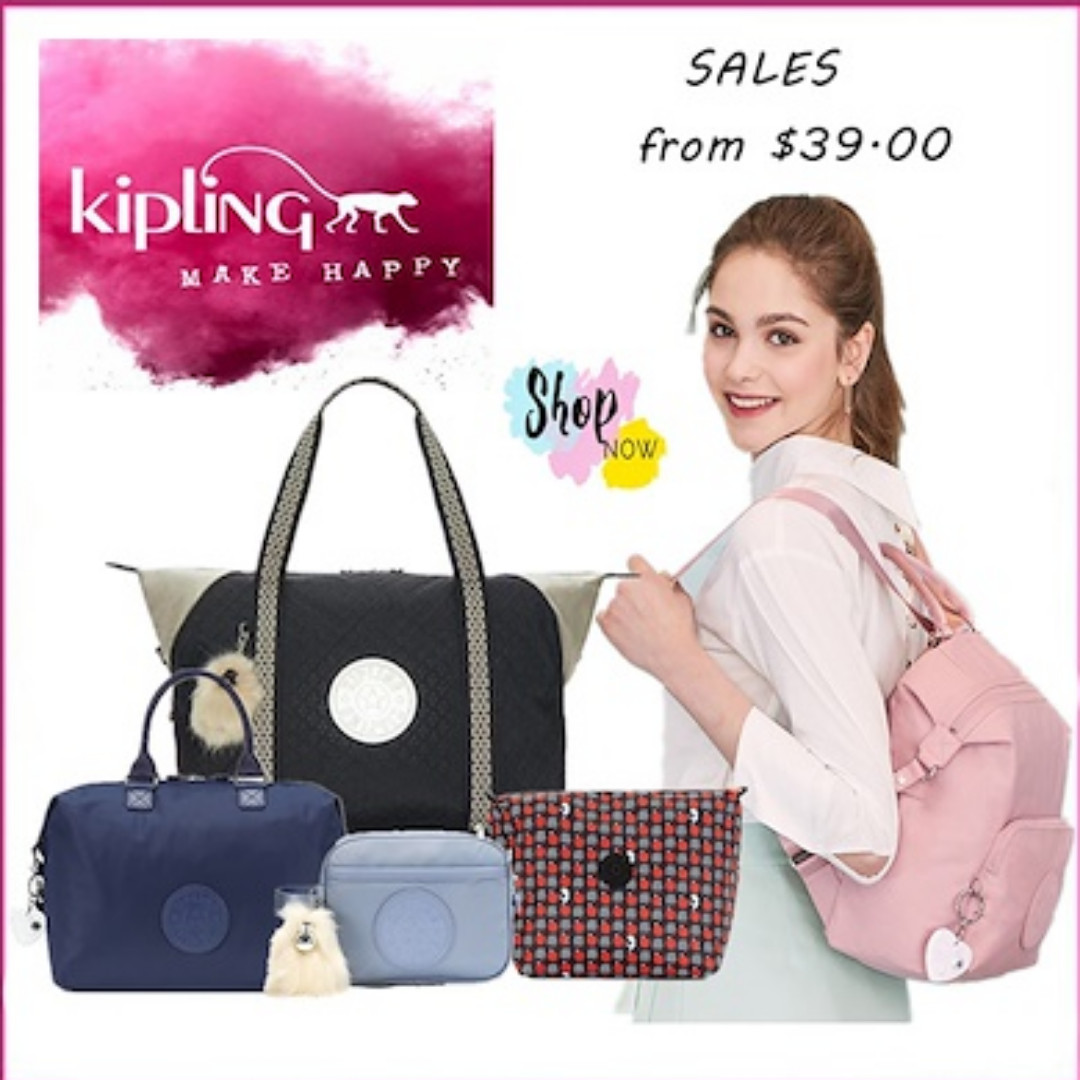 5a81b53600 100% Authentic Kipling U.S.A. on Sale - Kipling Bag Local Online Store  Women Bag, Women's Fashion, Bags & Wallets, Others on Carousell