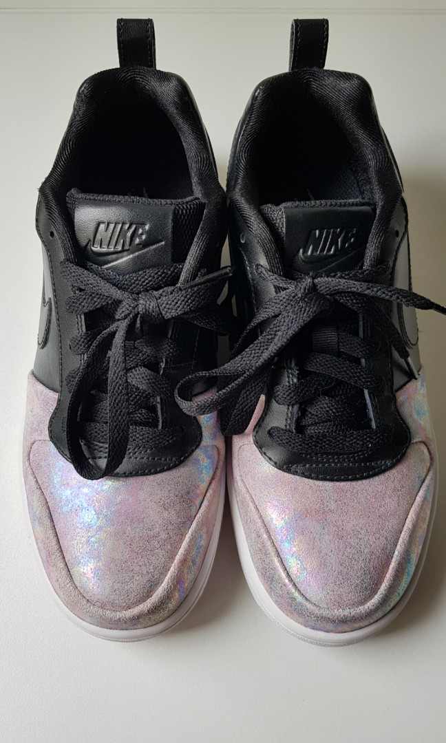 3a32ad956986 Nike Japan Women s black and holographic shoes (Court Borough Low ...