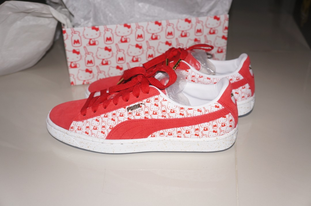 size 40 8e516 29ef2 Puma SUEDE x Hello Kitty *(Limited Edition)*💖
