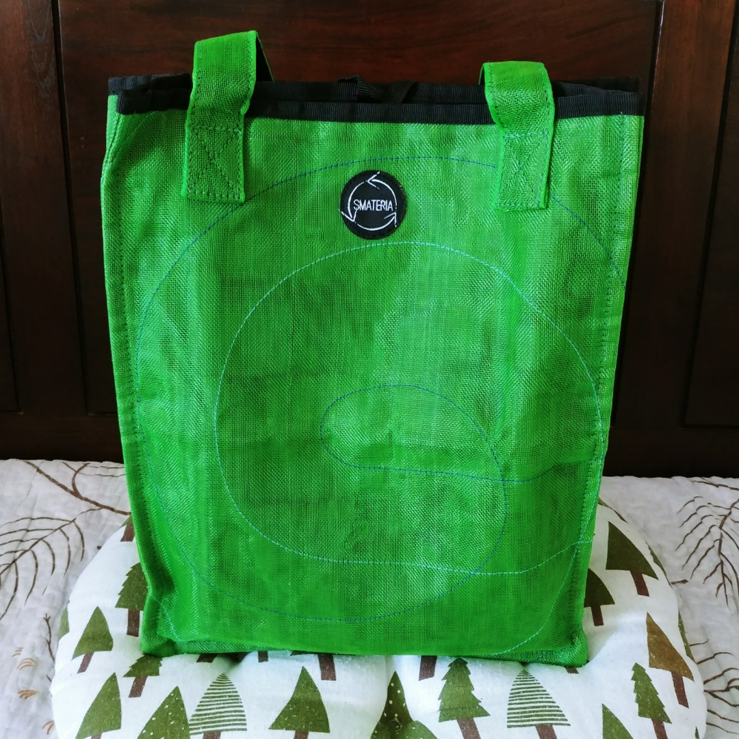 0692fcfc37d3 Smateria Green Tote Bag