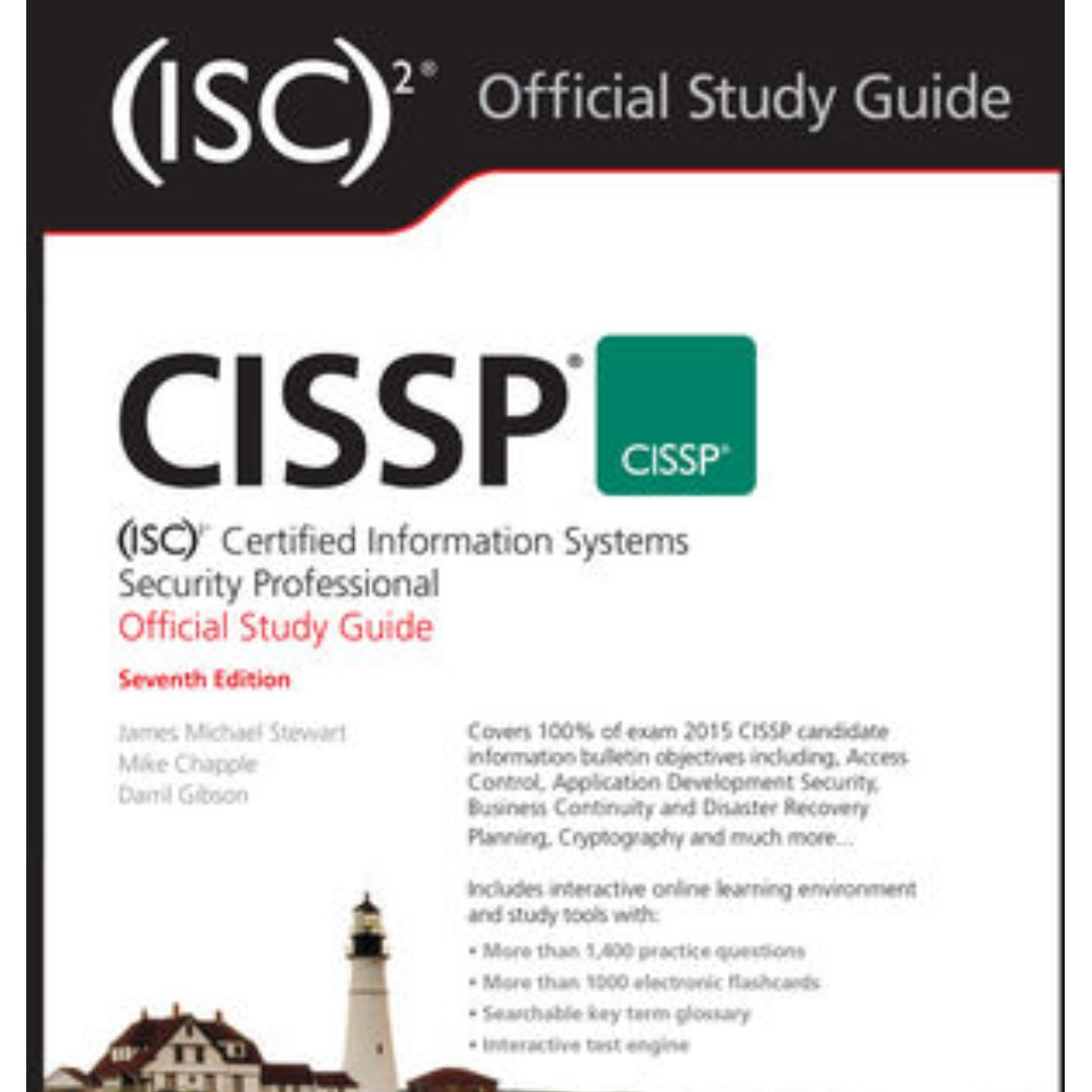 Sybex CISSP (ISC)2 Official Study Guide, 7th Edition (paperback), Books &  Stationery, Textbooks, Professional Studies on Carousell