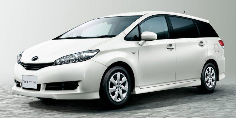 Toyota wish headlamp