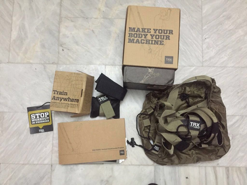 Trx Tactical Force Kit Sports Other Equipment On Carousell 1024x768