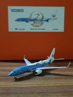 B737-800 JAL Transocean Air Livery Scale 1:400